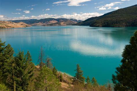 Kalamalka Lake, Okanagan, Bc, Canada Royalty Free Stock
