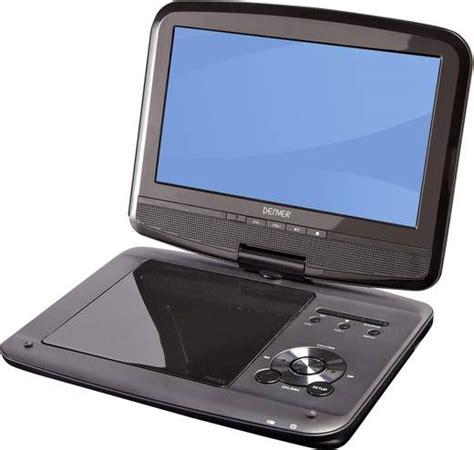 tv mit dvd tragbarer tv mit dvd player 22 86 cm 9 zoll denver mt 980t2h akkubetrieb inkl 12 v kfz