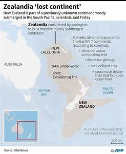 Hidden lost continent named 'Zealandia' discovered - Daily ...