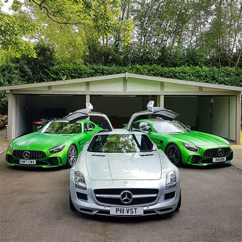 This combination is just irresistible and is limited to 750 units: Mercedes SLS C197 / GTr C190 AMG | Mercedes benz amg, Mercedes benz, Mercedes