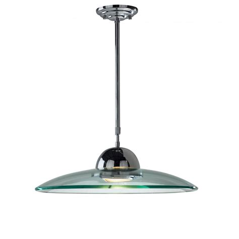 dar lighting hemisphere chrome halogen glass pendant dar