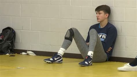 cva wrestler grabs national attention sportsmanship