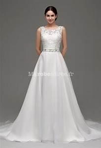 robe de mariee romantique coupe evasee With robe coupe evasée
