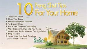 10 Quick Feng Shui Tips For Your Home Sun Signs