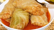RECIPE #1! HUNGARIAN stuffed CABBAGE rolls with PICKLED ...