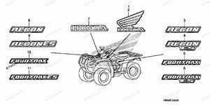 Honda Atv 2006 Oem Parts Diagram For Marks