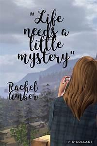 In Life : life needs a little mystery a quote by rachel amber in ~ Nature-et-papiers.com Idées de Décoration
