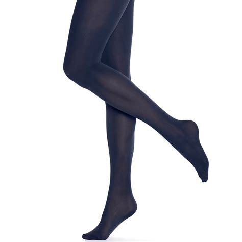 opaque tights hue opaque tights in blue shitake lyst