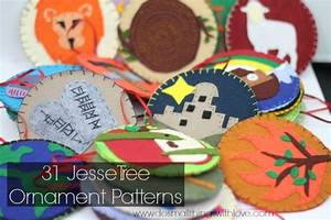 jesse tree ornament templates - christmas