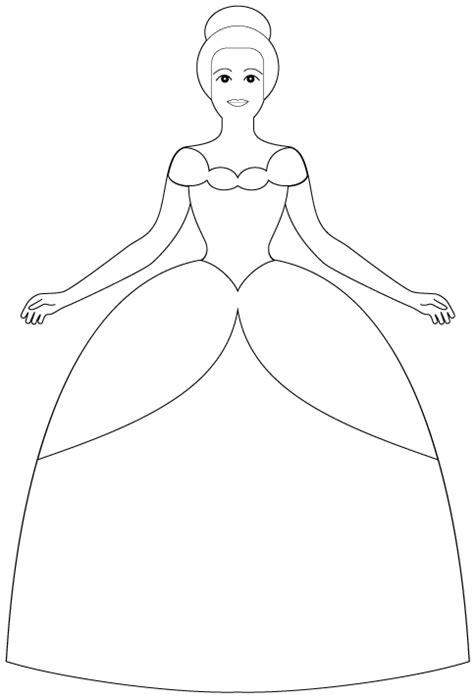 Princess Cut Out Template princess cut files digis
