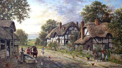 country cottage wallpaper hd thatched cottage wallpaper musings