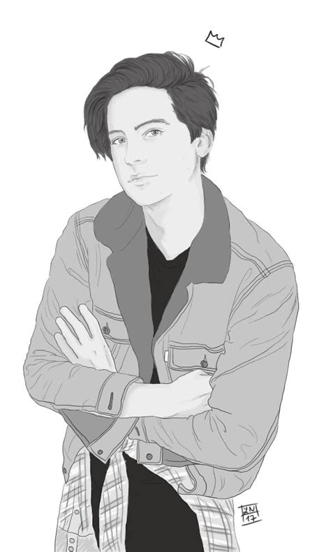 disegni da colorare riverdale jughead jones riverdale dessin dessin at design