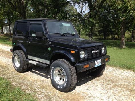 Suzuki Samurai Diesel For Sale by 1987 Suzuki Samurai Jx 4x4 Tin Top With 1 6l Vw Turbo