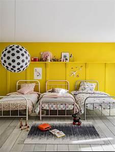 couleur jaune chambre bebe With peinture d une maison 8 comment bien choisir son tableau deco hexoa