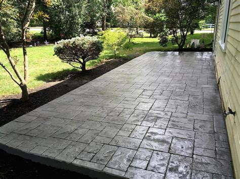 concrete contractor new jersey driveways patios and