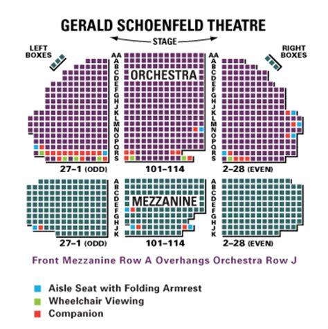 Gerald Schoenfeld Theater Seating Chart Arenda Stroy