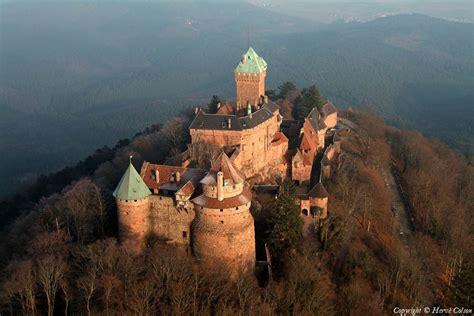 site du si鑒e photo aérienne de château du haut koenigsbourg bas rhin 67
