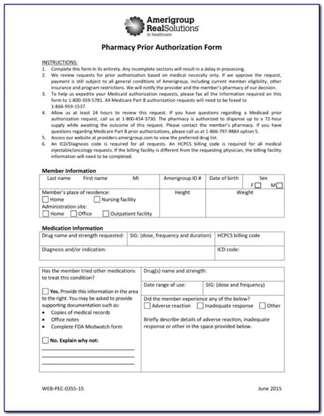 wellcare prior authorization form world of exle