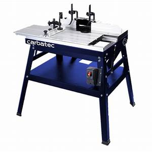 Carbatec Router Table w/ Sliding Table Router Tables