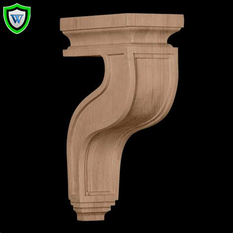 Hollow Corbels by Chadsworth Architectural Millwork Hollow Back Wood Corbels