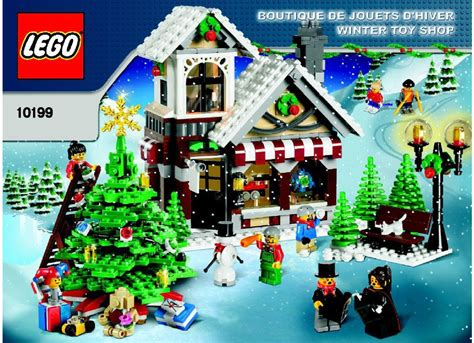 Lego Winter Village Toy Shop Instructions 10199, Town