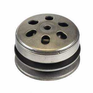 Complete Clutch Assembly With Driver Pulley  U0026 Clutch Bell
