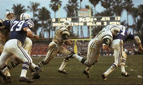 Super Bowl III - N.Y.Jets vs Baltimore Colts at the Orange ...