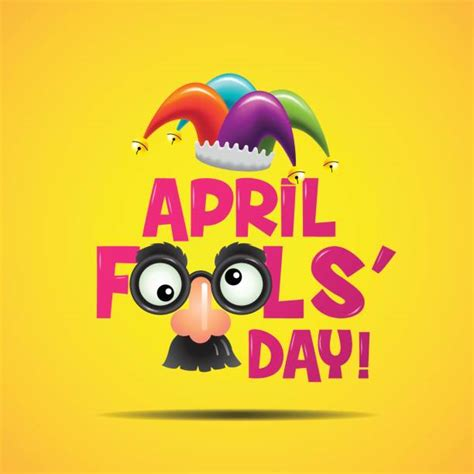 april fools day illustrations royalty  vector