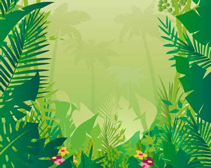 jungle vector background ai svg eps vector