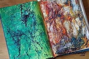 Papier De Soie Blanc : aquarelle et acrylique sur fond textur au papier de soie ~ Farleysfitness.com Idées de Décoration