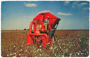 Product Pamphlets Mccormick Mechanical Cotton Picker 1962