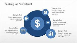 Free Banking Circular Diagram With Powerpoint Icons