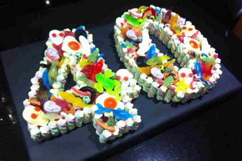 40th birthday cakes from sweet 40th sweet cake dartford pre filled sweet cones sweet