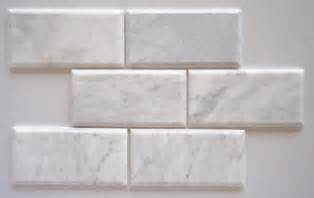 buy bianco venatino marble 4x8 beveled honed subway tile standard quality lot of 20