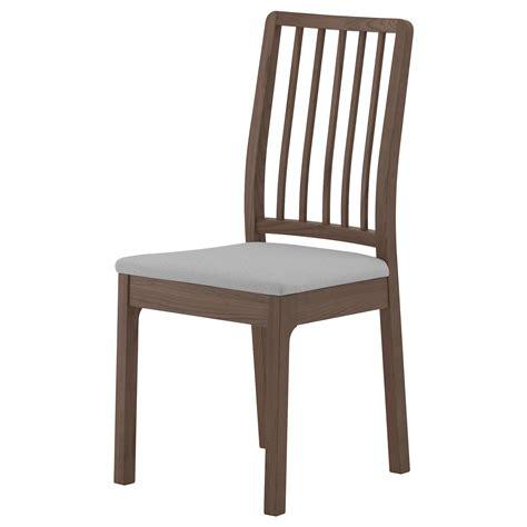Ekedalen Chair Brownramna Light Grey Ikea