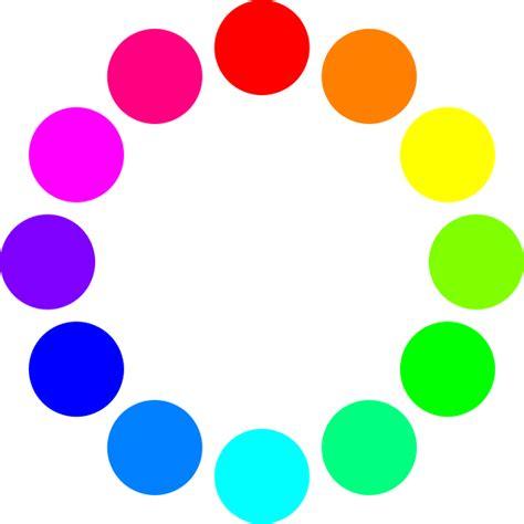 12 color circles clip at clker vector clip