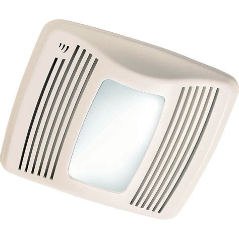 humidity sensing bathroom fan with led light broan qtx110sl white 110 cfm 0 9 sone ceiling mounted hvi