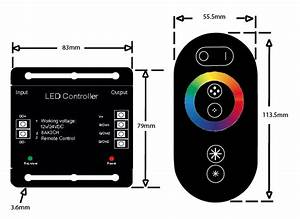 Wireless Rgb Controller For Instyle Led Tape
