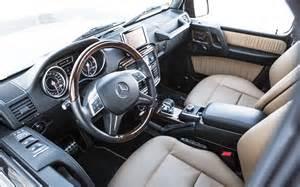 Mercedes G63 AMG Interior
