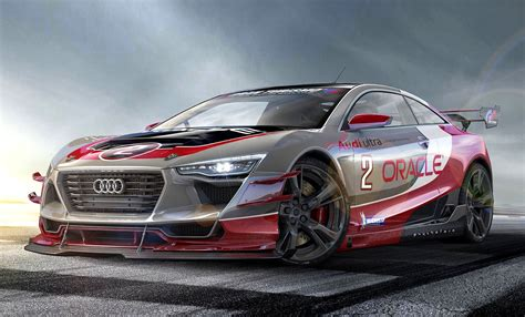 audi race car audi r4 race car version concept by rene garcia