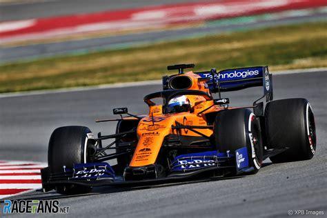 2019 mclaren f1 carlos sainz jnr mclaren circuit de catalunya 2019