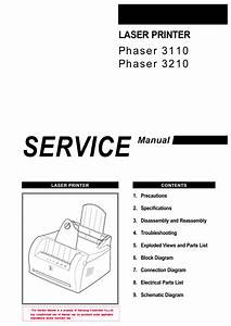 Xerox Phaser 3110 3120 Parts List And Service Manual