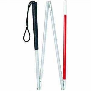 White And Red Guide Stick