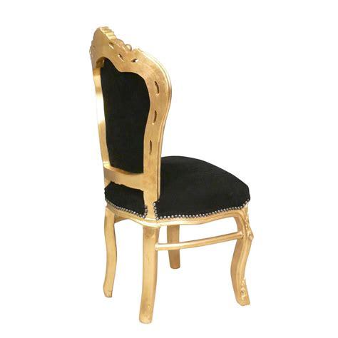 chaises baroque chaise baroque et or fauteuils louis xv