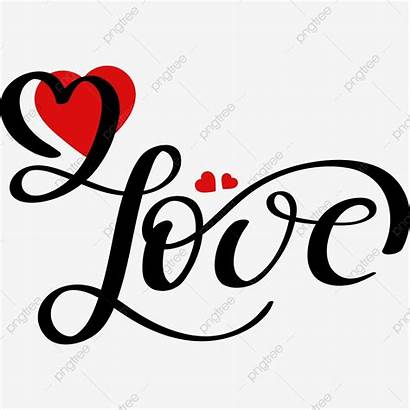 Hearts Handwritten Clipart Lettering Pngtree Amor Infinity
