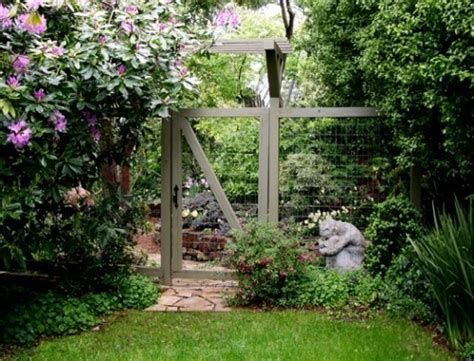 Garden Fence And Gate Ideas garden gates atlanta ga fence workshop