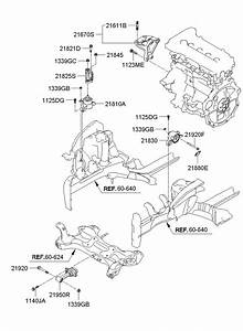 2012 Hyundai Veloster Bracket Assembly