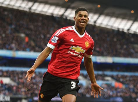 Check this player last stats: Manchester City vs Manchester United match report: Marcus Rashford scores yet again as United ...