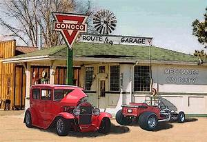 Garage Route 66 : hot rod wallpapers hd download ~ Medecine-chirurgie-esthetiques.com Avis de Voitures