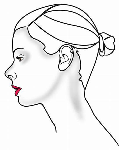 Human Clipart Outline Face Profile Head Side